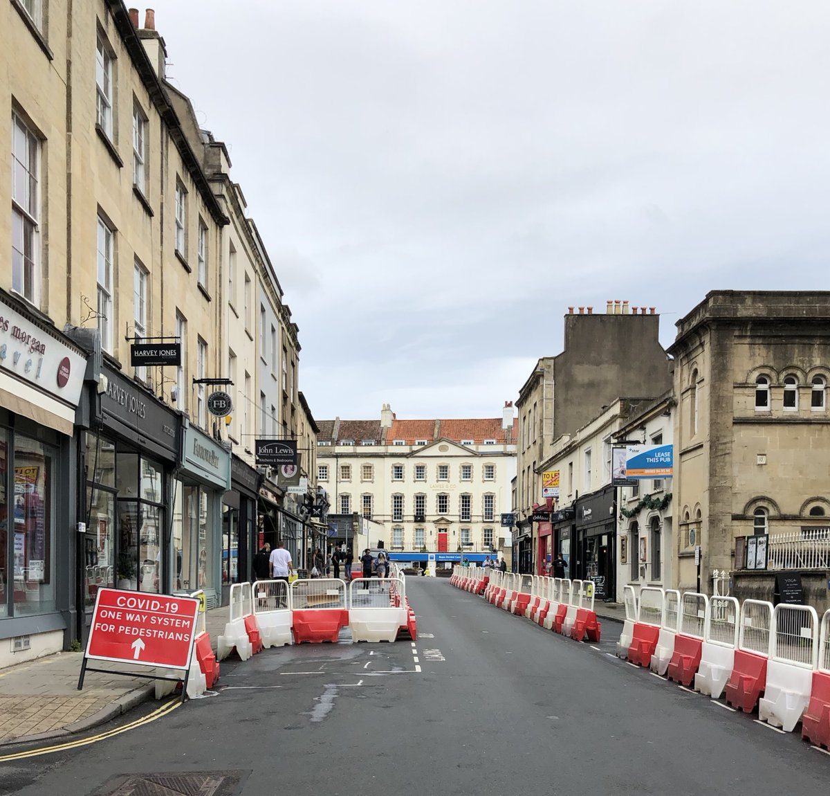 A once thriving shopping street in #Bristol. This is what incompetence creates.   How many thousands more shopping streets around the country have been ruined? <br>http://pic.twitter.com/6xS7q67M1T