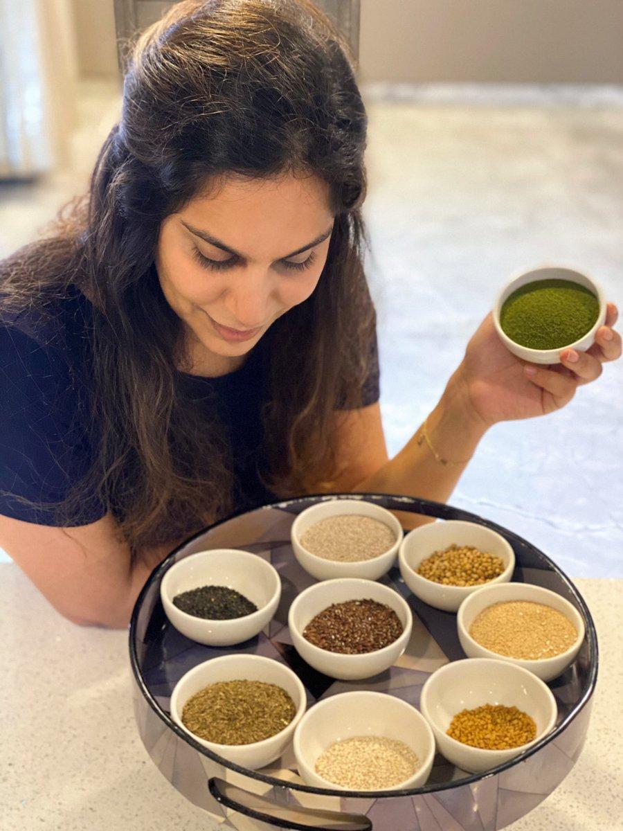 Turn Your Kitchen into a Clinic and Your Spice Box into Pharmacy!. @upasanakonidela    Stay Home, Stay Safe.   #UpasanaKonidela #Tollywood #TeluguFilmNagar pic.twitter.com/0hyMR4NaF1