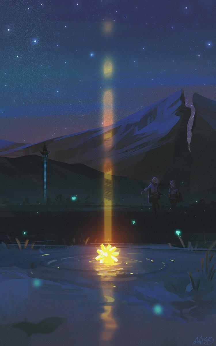 #ゼルダの伝説ブレスオブザワイルド #LegendOfZelda #BreathoftheWild  星星碎片也可以许愿吗?