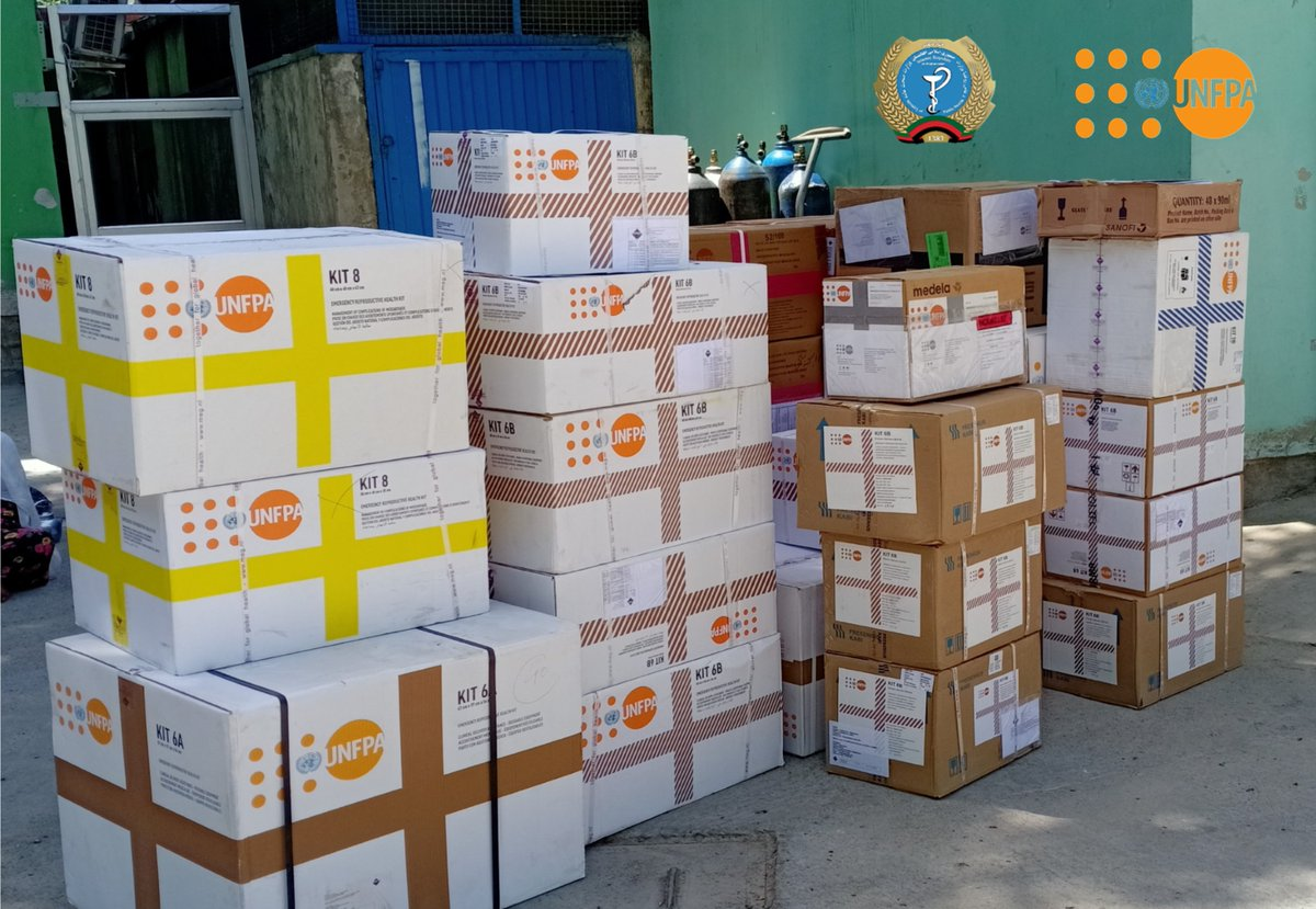 Sexual and reproductive health is a crucial public health issue that demands urgent and sustained attention and investment. With donation of emergency reproductive health kits, @UNFPAAfg supports to fill the gap in different provinces of Afghanistan #WPD2020 #WorldPopulationDaypic.twitter.com/8JxVS1X1IA