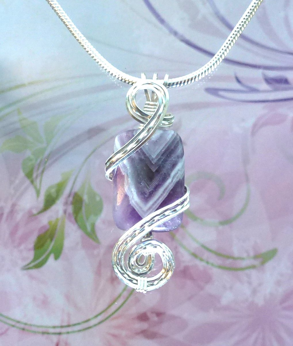 Purple Amethyst Womans Pendant Necklace Wire Wrapped Jewelry Handmade in Silver FREE SHIPPING https://etsy.me/2qIAyp1 #fashion #etsy #etsygifts #etsymntt #handmade #jewelry #handmadejewelry #bohemianpic.twitter.com/By1S1jSpi5