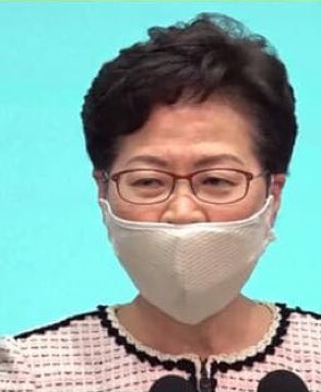 @Independent Guys, please don't wear your #mask like this, bad example from #covidiot Lam. Always cover your nose and mouth properly!  #WearAMask https://t.co/gGP2Wur0SP