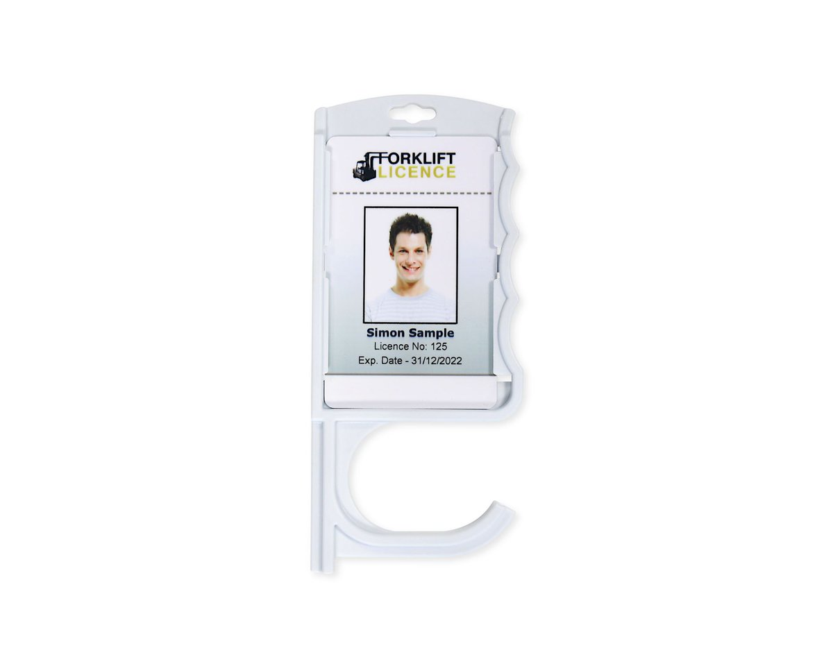 With a #facemask set to be mandatory in many settings now, make sure you have yours and avoid a £100 fine. We can also supply gloves and ID holders which open a door for you without you having to touch the door https://bit.ly/shpfyPPE pic.twitter.com/0BMh9P2Pcp