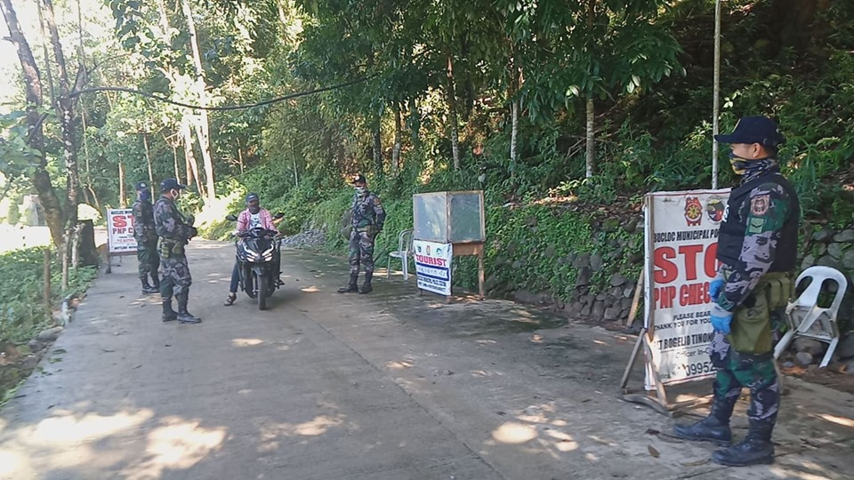 7/14/2020 @ 10:00 AM  Checkpoint in Pob. Lamao, Bucloc, Abra. #TeamPNP #WeServeAndProtect #PNPKakampiMopic.twitter.com/QsTSt1wPzx