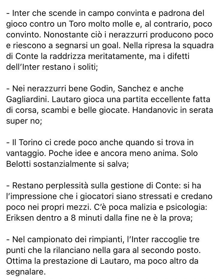 #InterTorino
