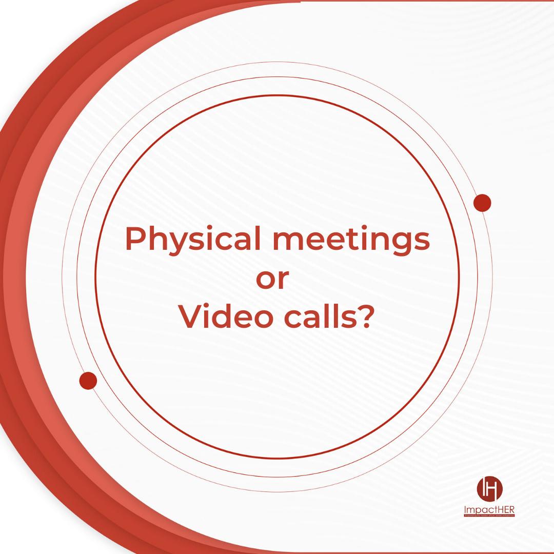 Hey Greatness! Do you still prefer physical meeting over video calls?  Let's hear from you #Tuesdayvibes #staysafe #WomenInBusiness #LagosWomen #bosslady #womenentrepreneur #Savvybusinesswomen #careerboss #impactHERpic.twitter.com/aOqustkJrT