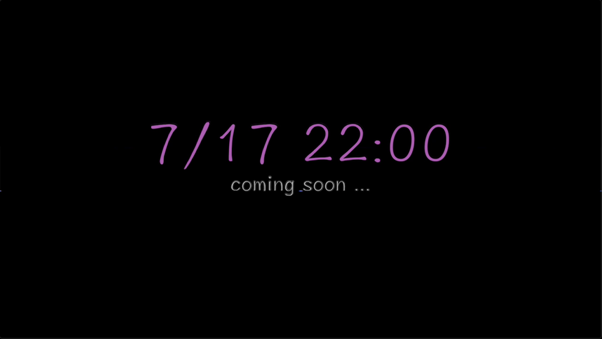 【予告】🔵 7月17日 22時 🔵中毒性の高い曲です(..◜ᴗ◝..)聴きすぎて頭から離れません(..◜ᴗ◝..)今回はTwitterに動画あげないのでチャンネル登録してお待ちください❣️❣️▷ #予告#歌ってみた#歌い手さんMIX師さん絵師さん動画師さんとPさん繋がりたい