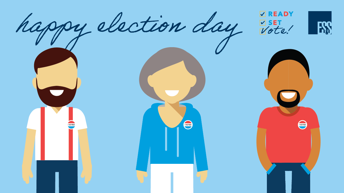 It's Election Day – so GO VOTE! And be sure to thank your poll workers as they are the unsung heroes of our democracy. They are the people who prepare the polling place and answer voters' questions — helping to make sure everyone has a smooth voting experience! https://t.co/y7eDlvldem