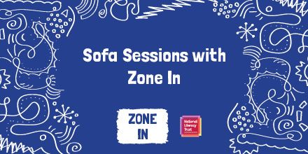 Our Zone In Sofa Sessions introduce young people to some of the UK's most exciting young poets. Tune into this evening's session from 6pm on our Instagram channel, to see live performances from @maryjean_chan, @YomiSode and @ioneyiscreative  https://t.co/ut1KAjivrn https://t.co/mPRbvECl6L