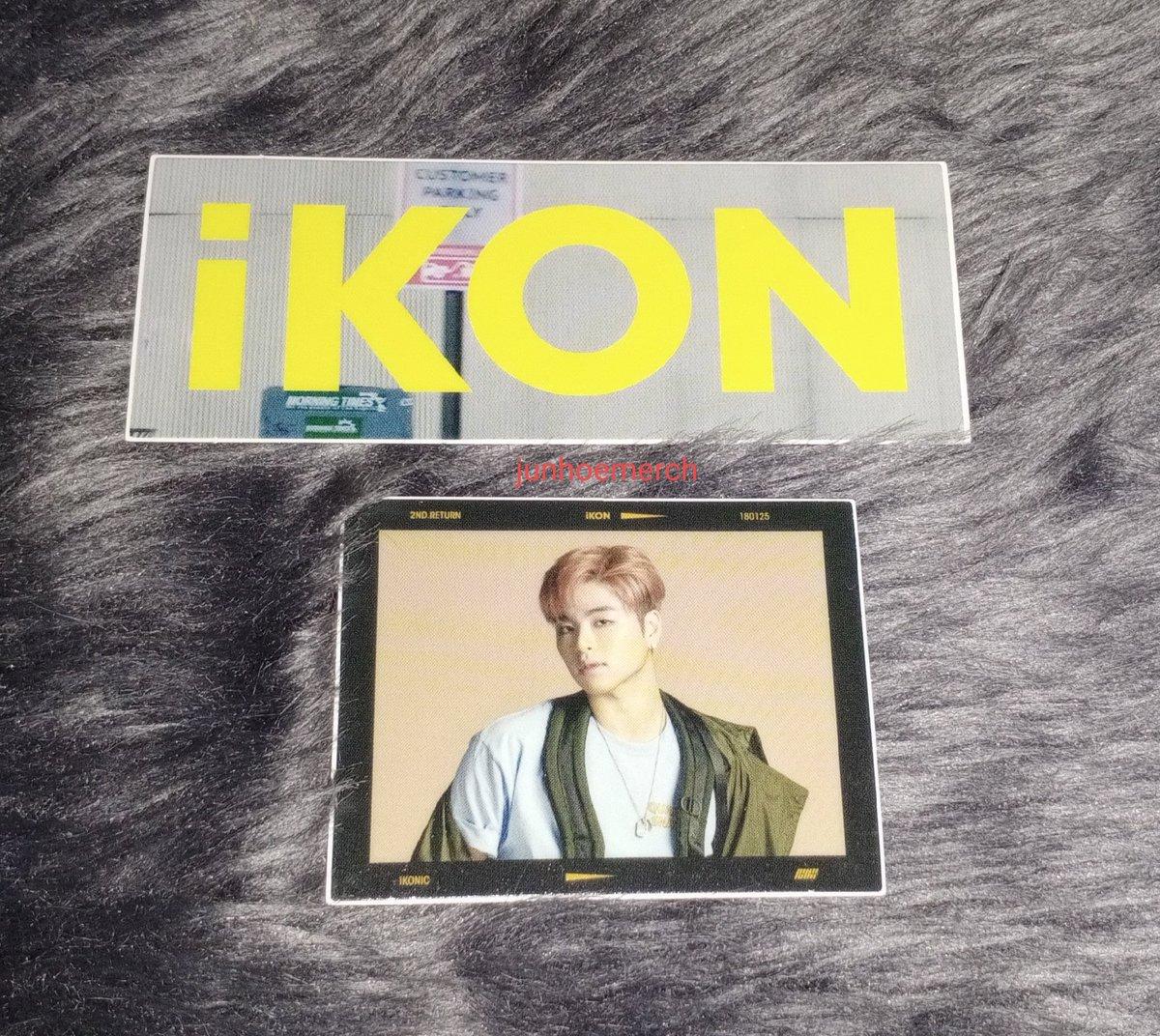 ♡ iKON Return Junhoe sticker ♡  @tkwpcnfak #iKON #JUNE #Junhoe