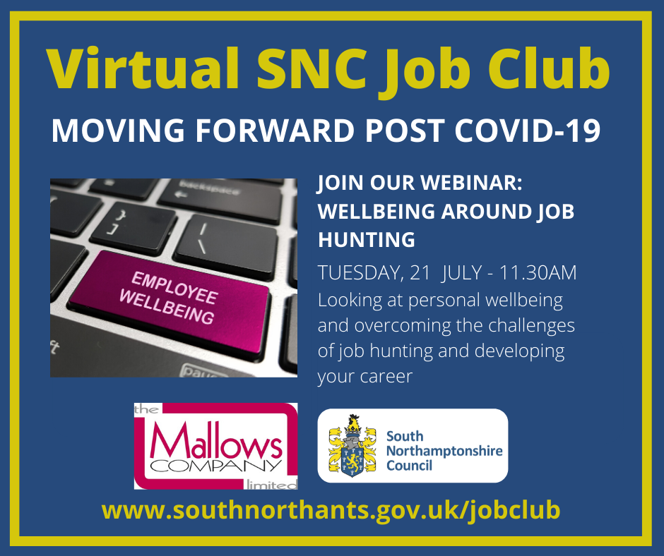⭐️FREE EMPLOYMENT SUPPORT⭐️  This session on 21/07/20 will focus on: ⭐️Personal #Wellbeing ⭐️Overcoming the Challenges of #JobHunting  ⭐️Developing Your #Career!   📢Book Now - https://t.co/SiWekj8wKi https://t.co/7PCq6F9ITQ