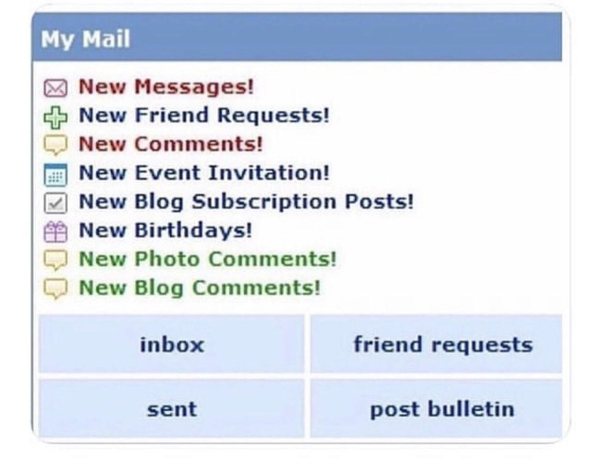 Idk why Myspace is trending, but the youngins today will never know how exciting this was. https://t.co/BkSLfiZXVe