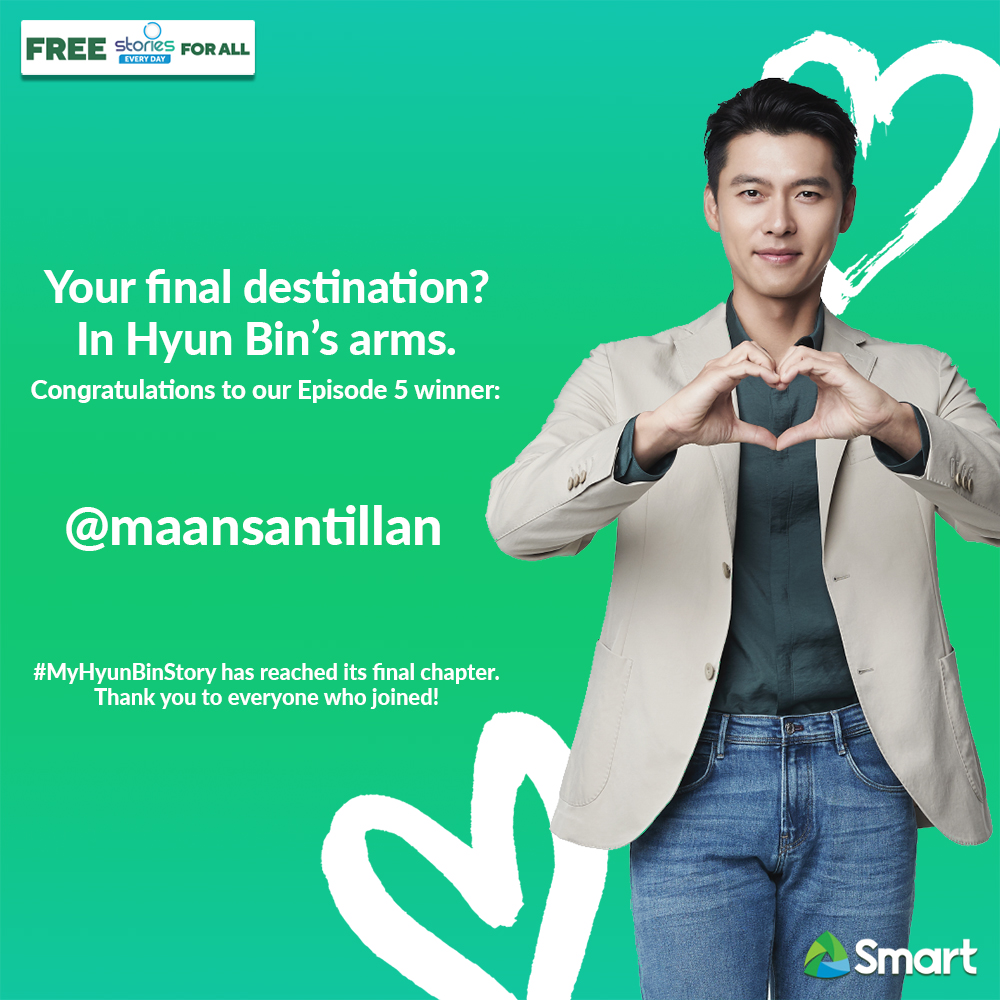 Congratulations to the official winner of our limited edition #SmartHyunBin photobook! Our kilig-filled #MyHyunBinStory may have ended but the fun continues for all! Keep sharing stories of your favorite Korean drama with Smart Free Stories For All! #SmartAko https://t.co/AhuBFFUtY6