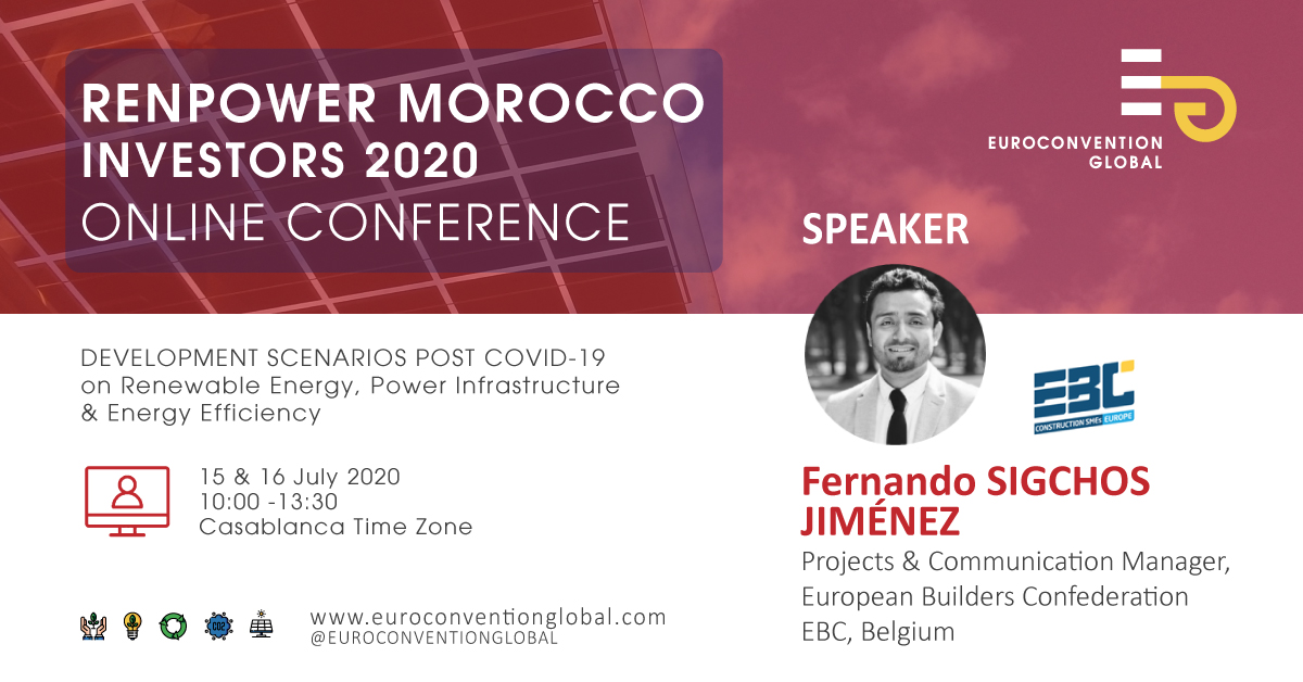 Pleased to speak at the #RENPOWER Investors 2020 Conference on Renewable Energy, Power Infrastructure & Energy Efficiency!  Join me to discuss how to turn #EnergyEfficiency challenges into opportunities & the  project @bim4ren   16/07 More info: http://bit.ly/2BTPbwjpic.twitter.com/G8jk1VPQsu