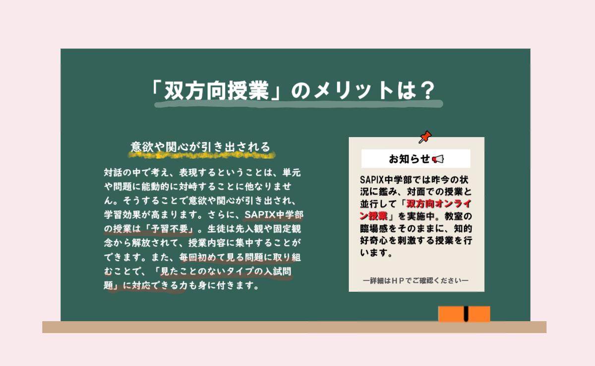 部 中学 サピックス ページ マイ