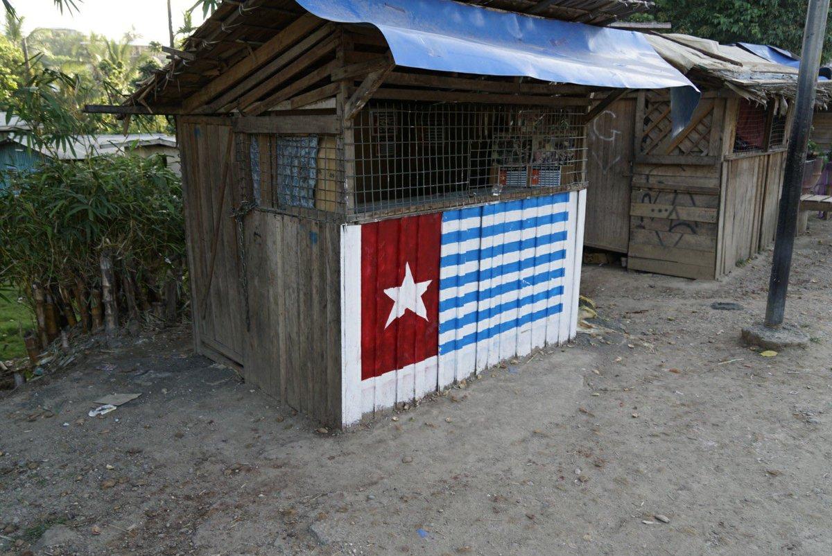 たまにソロモン諸島で見かける、この旗はなんでしょう?🇸🇧