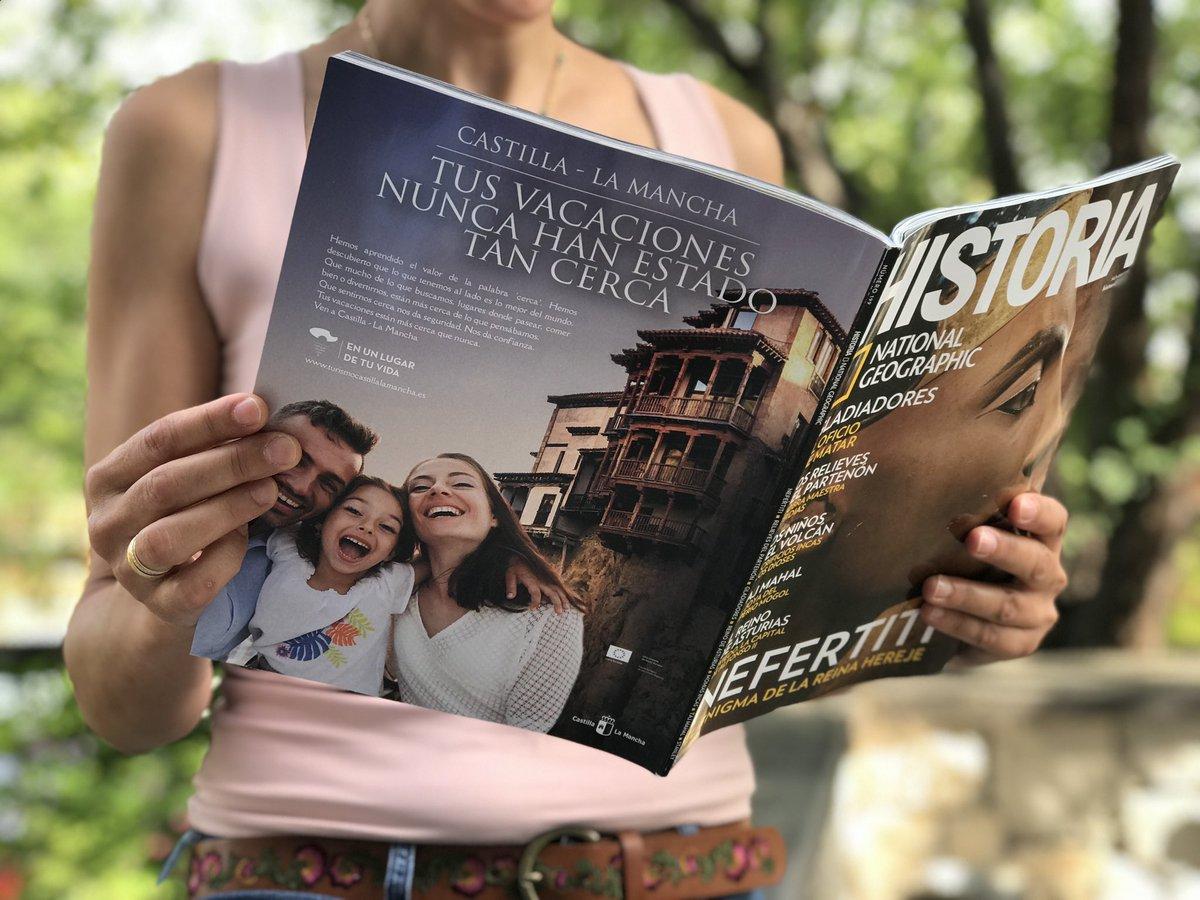 #CastillaLaMancha en @NatGeo_la  Es el momento de elegir tu próxima escapada en una región que ofrece un rico patrimonio histórico-artístico, gastronomía única, tradición artesana y mucho más 😍  𝑻𝒖𝒔 𝒗𝒂𝒄𝒂𝒄𝒊𝒐𝒏𝒆𝒔 𝒏𝒖𝒏𝒄𝒂 𝒉𝒂𝒏 𝒆𝒔𝒕𝒂𝒅𝒐 𝒕𝒂𝒏 𝒄𝒆𝒓𝒄𝒂 https://t.co/KIBLXtp3Lh