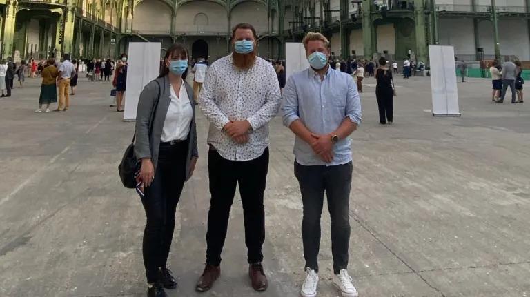 """#14juillet  Les trois enfants d'un aide-soignant de Saint-Avold mort du Covid-19 invités de la fête nationale à Paris : """"On veut voir des familles qui sont dans le même cas que nous et faire quelque chose pour l'hôpital."""" https://t.co/zWNvKVWgLc https://t.co/PBqOXnaPaQ"""