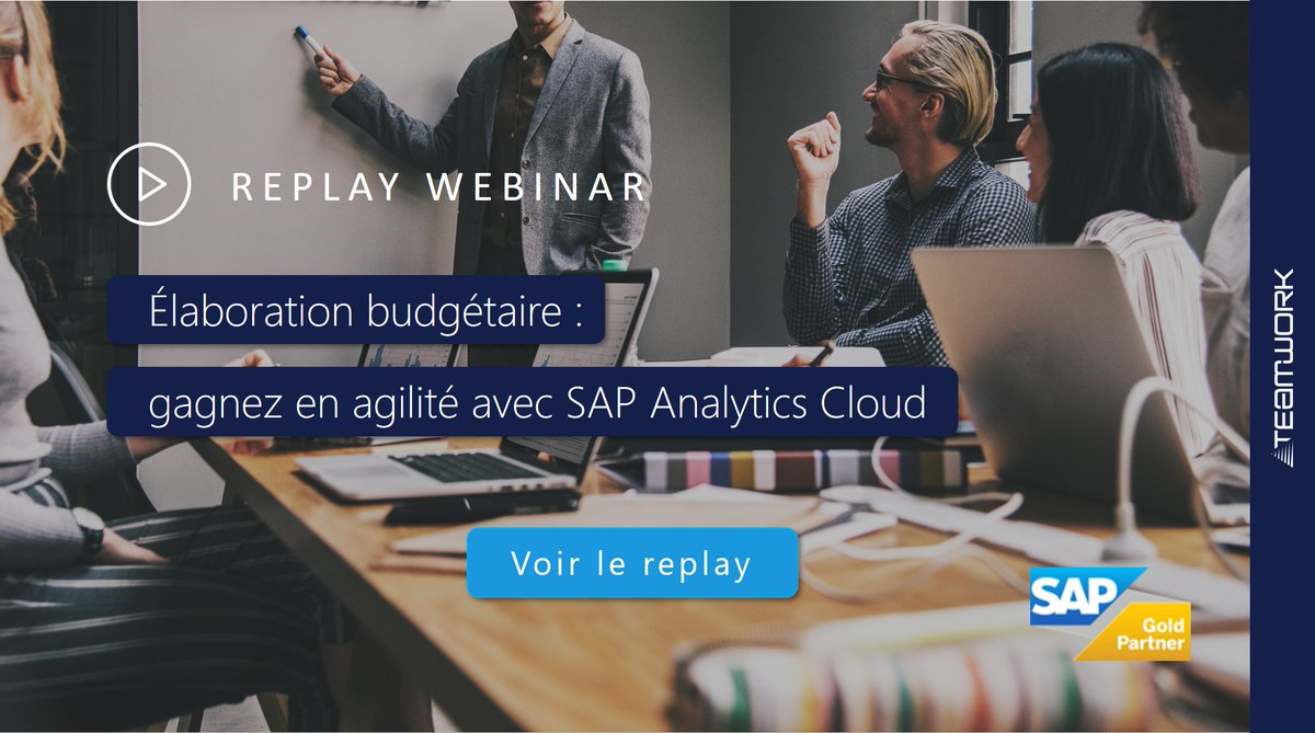 Image for the Tweet beginning: ▶ Replay #Webinar Avec SAP Analytics