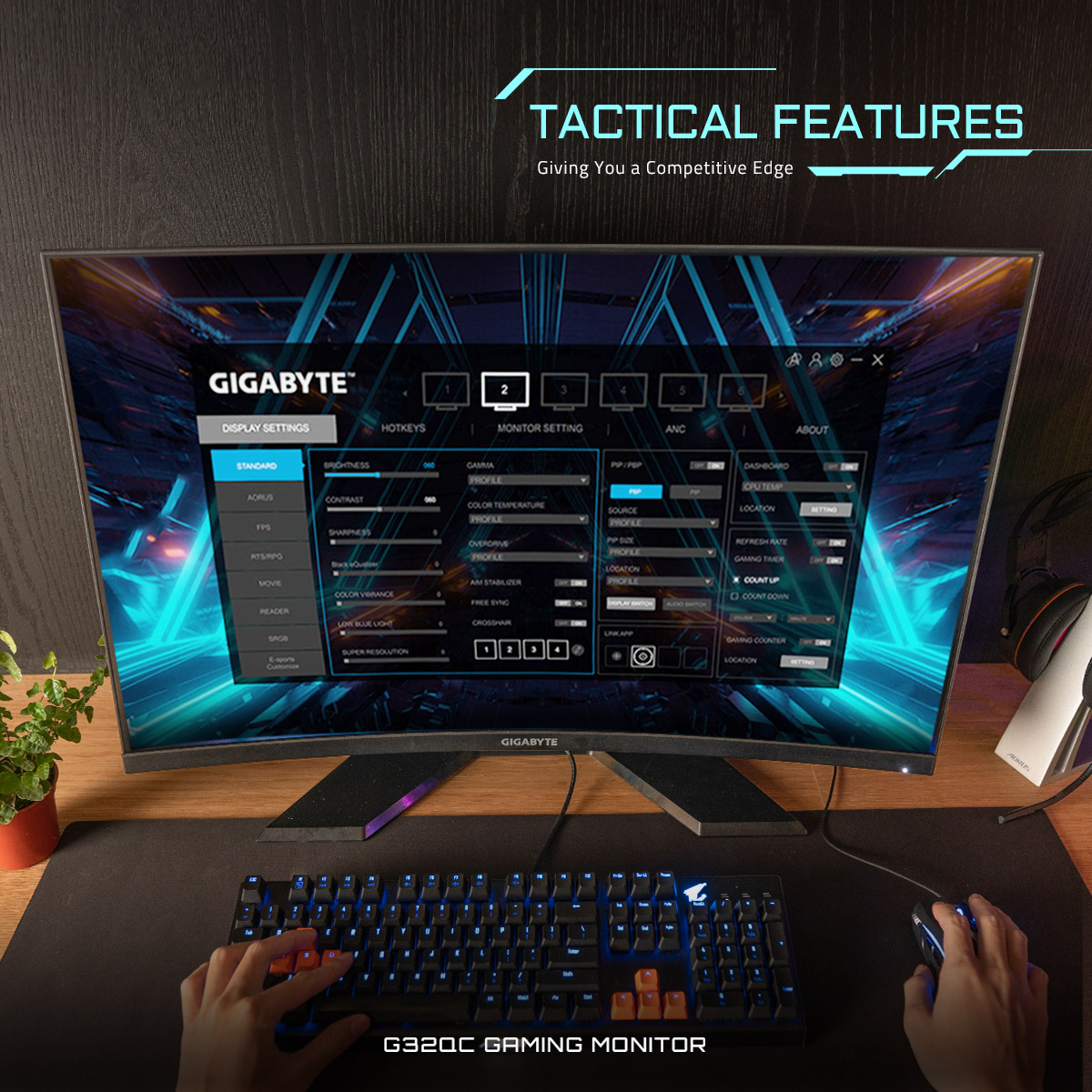 GIGABYTE G32QC Gaming Monitor - Giving you a competitive Edge!  https://www.gigabyte.com/Monitor/G32QC#kf…   #JoinTheFight #gigabytemonitor #gamingmonitor #G32QC #curvedmonitor #monitor #curved #gaming #monitors #InstaGaming #InstaGamers #InstaGame #aorus #gamingcomputer #gamingpcbuilds #pcpartspic.twitter.com/RmkH7yaB8S