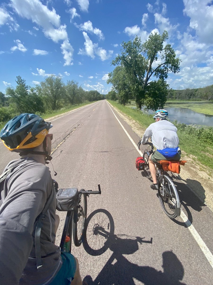 Day 2 and 3: Wisconsin to Iowa. 3,000 ft elevation 😱
