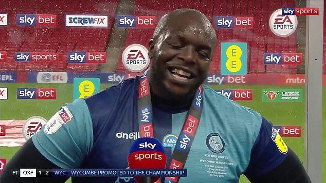 Congrats @daRealAkinfenwa you deserve it man, legend 🙌