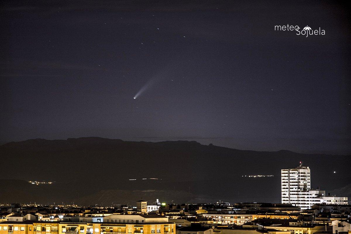 El cometa Neowise ya se puede ver al anochecer #Ciencia | por @Wicho https://t.co/t3AoHT3SIs https://t.co/3hdzZeFRtu