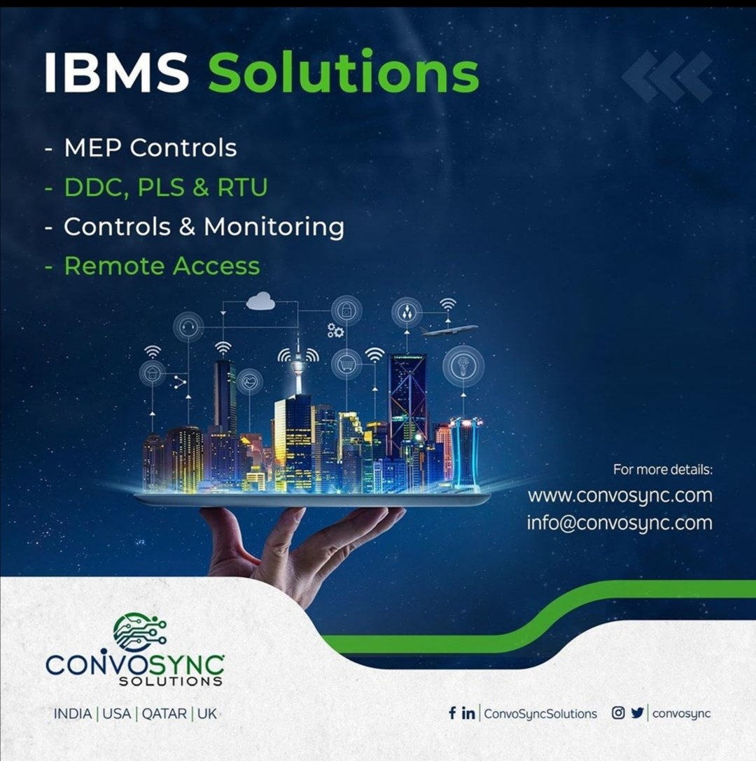 Do you know about IBMS (Integrated Building Management System)?  #Architects #Builders #CivilEngineers #HomeDesigners   For us at @ConvoSync, we are the best at #ComputerBased #Integration #Control for Homes, Office Buildings & Infrastructures.  Talk to us http://convosync.compic.twitter.com/BX5uHX7WdB