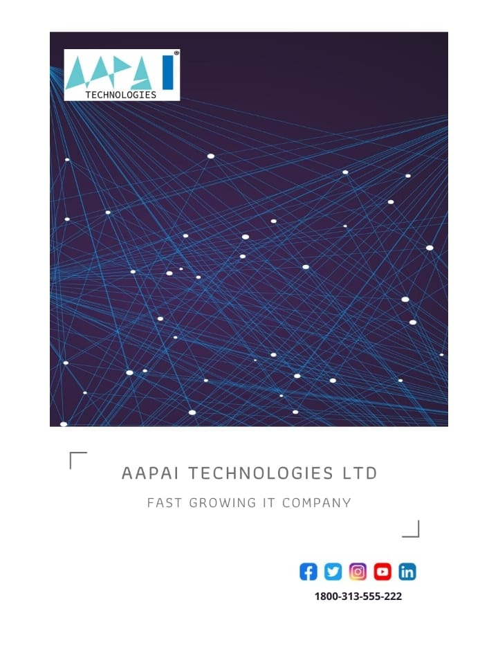 Aapai Technologies One-Stop IT Solution The best solution on #ERP , #CRM, and #school management system. Get a call: https://lnkd.in/g47tvuA Contact us :1800 – 313 – 555 – 222 Email id: info@aapaitechnologies.com Be first and Contact us for FREE DEMOpic.twitter.com/XA7C9UGnLD
