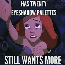 Can you ever have enough eyeshadow palettes? #makeup #eyeshadow #makeupmeme #justmylook #makeuploverpic.twitter.com/nFkJ4ERKzQ