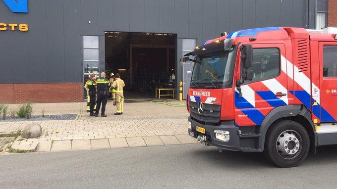 Gebouwbrand Klopperman Wateringen betreft brand in afzuiginstallatie. Brandweer controleert de ruimte https://t.co/BGkkzeSqN0
