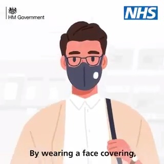 The guidance on face coverings in England is changing. From 24 July, it will be mandatory to wear a face covering in shops and supermarkets, as well as on public transport. Your face covering must cover your nose and mouth at all times.
