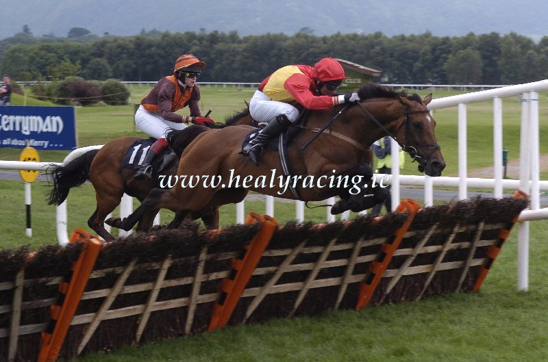 #FromTheArchives 15 years ago today 14-7-2005. @KillarneyRaces somethingforsunday and @kilnock win for owners Burren Racing Syndicate and trainer Colm Murphy. (c)healyracing.ie
