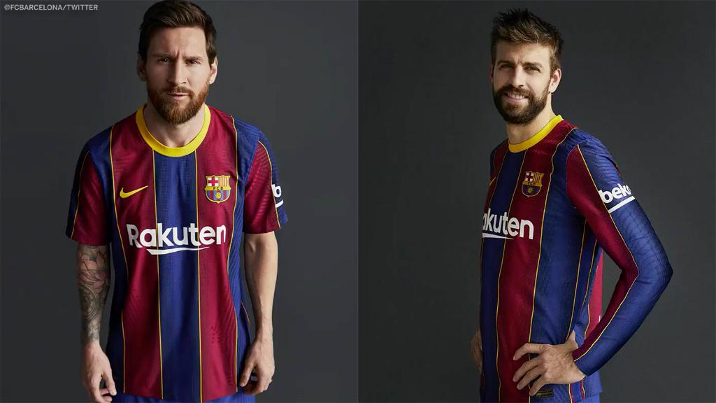 Barcelona have dropped their new home kit for next season 🤩 https://t.co/HUg6EsiJeB