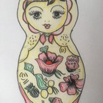 Image for the Tweet beginning: A beautiful Matryoshka Doll design