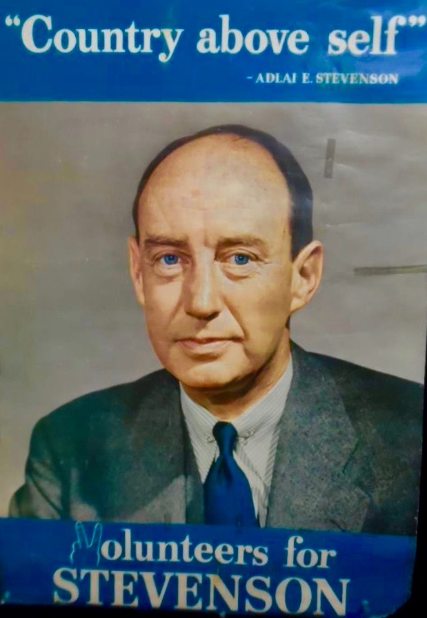 Adlai Stevenson died 55 years ago today: