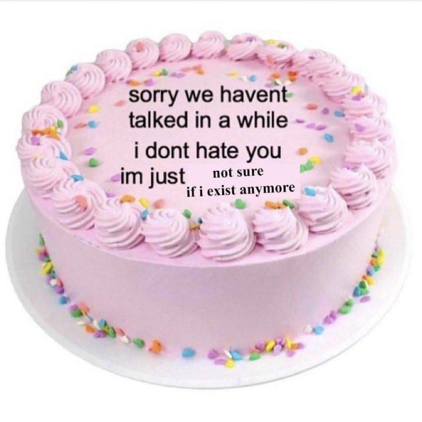 Me as a cake