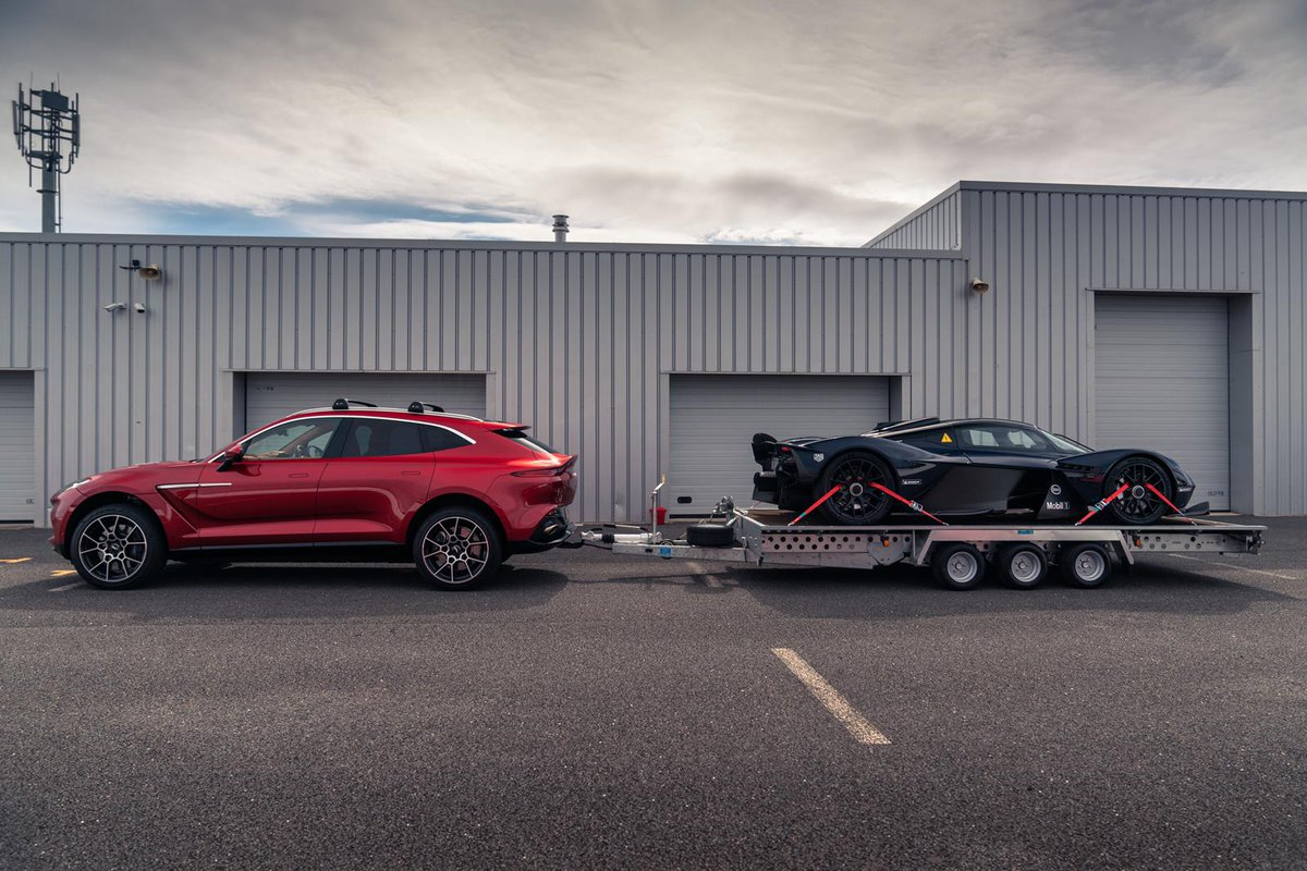 Top Gear On Twitter Topgear Magazine Are Out And About Testing Aston Martin S All New Dbx Being The First Aston Ever To Be Fitted With A Tow Bar Tomwookieford Had To Test It