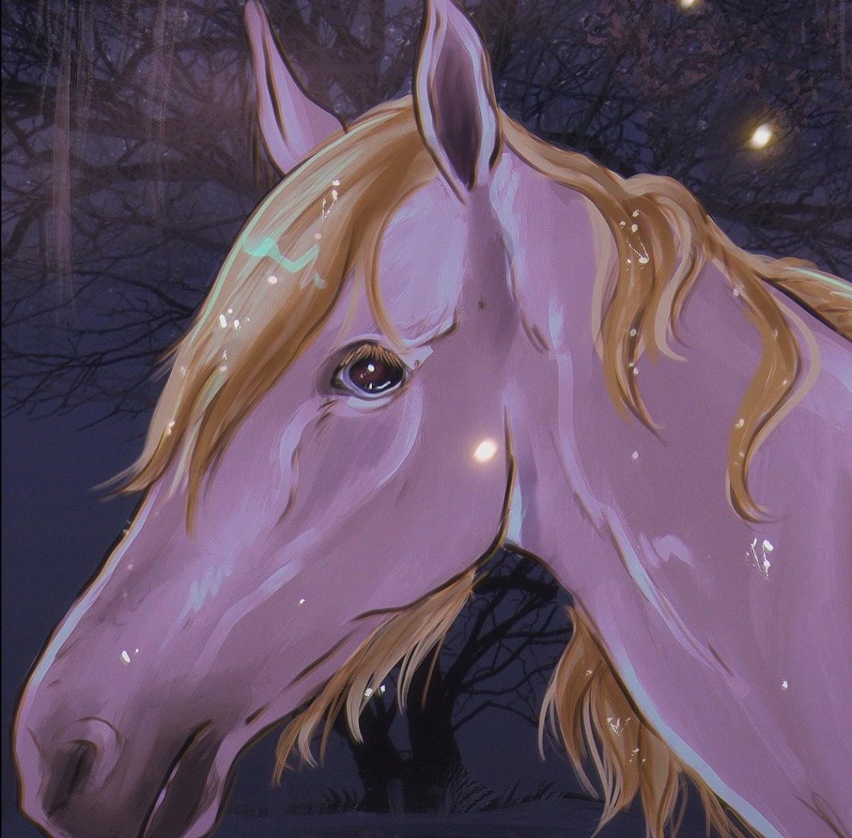 also, the horsey 🐴 🥺 I name her Ivory 💕 https://t.co/mCzlh0S3qz