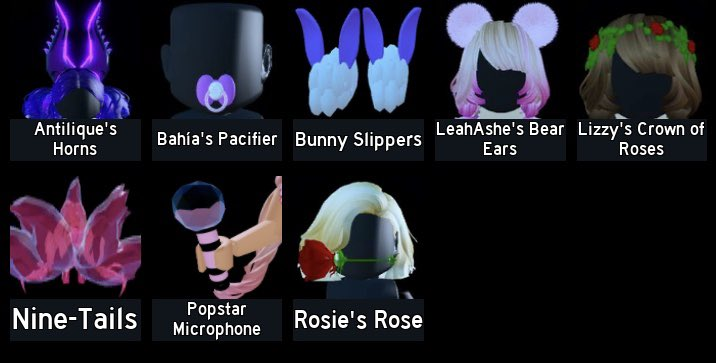 Looking to buy these items in the photo for diamonds. Comment your prices.   #royalehightrades #royalehightrade  #royalehightrading  #royalehightradingspic.twitter.com/LC0JzuikhT