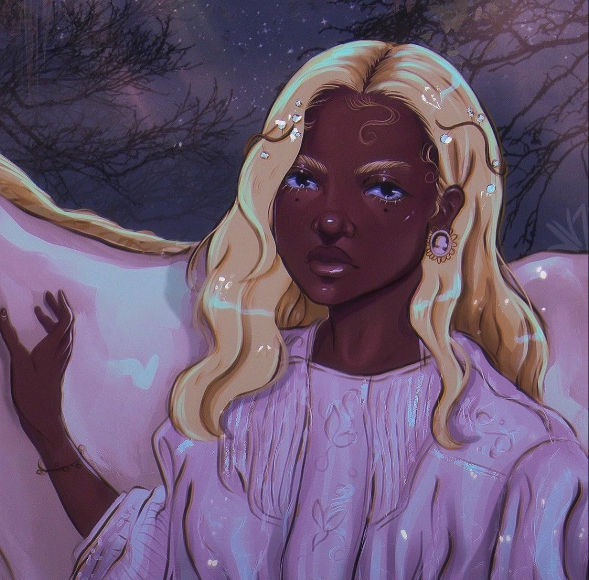 @fettiyaq Also, just posted an art piece and your blonde look inspired me ✨ https://t.co/D7fjZzvw9C