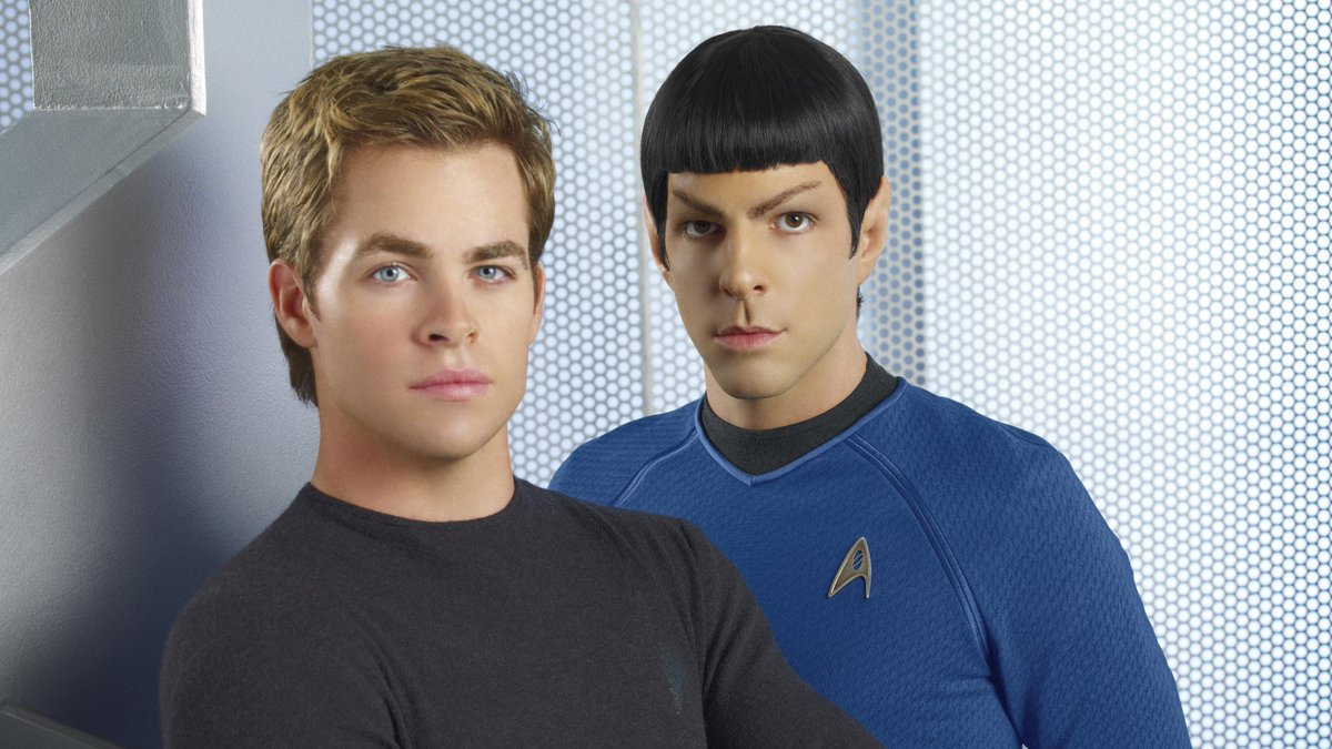 They look so young 🤯 J.J. Abrams first Star Trek came out 11 years ago