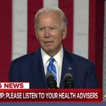 Image for the Tweet beginning: Live on @MSNBC: Joe Biden