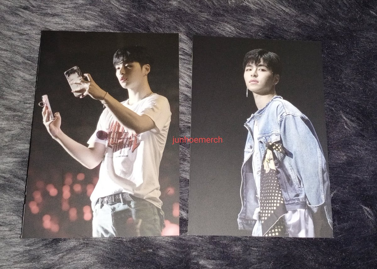 ♡ iKON Continue Encore in Seoul Postcard book ~Junhoe set ♡  @tkwpcnfak #iKON #JUNE #Junhoe