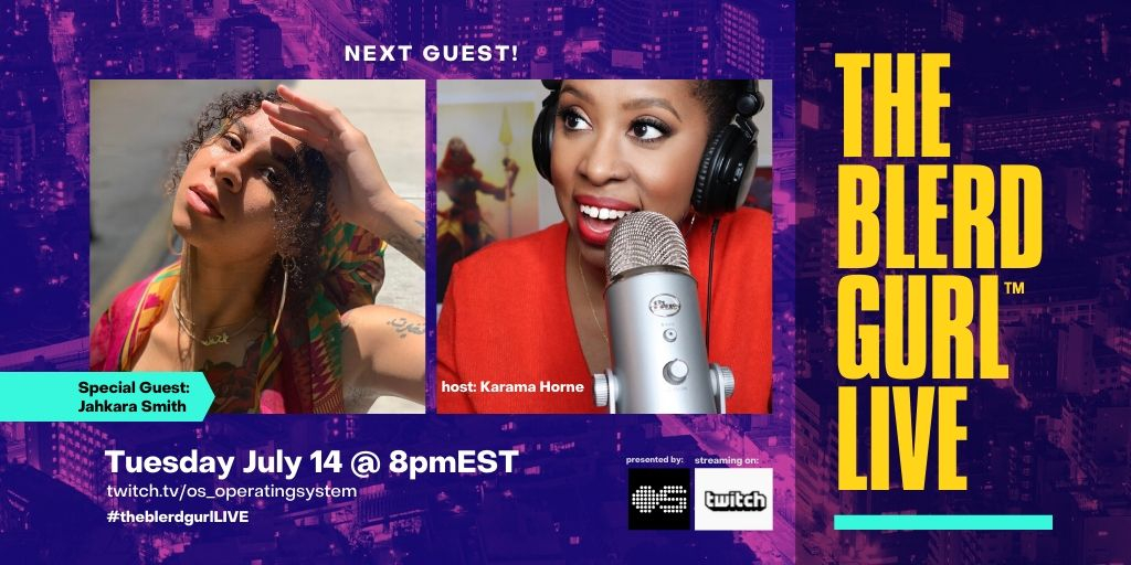 TONIGHT AT 8PMET! @SlaylerJ is my guest on #theblerdgurlLIVE We'll talk about her role as Maggie Leigh on @NOS4A2 her activism, art and how her @Youtube persona #SailorJ made her so famous, that now everyone on TikTok is blowing up using her voice