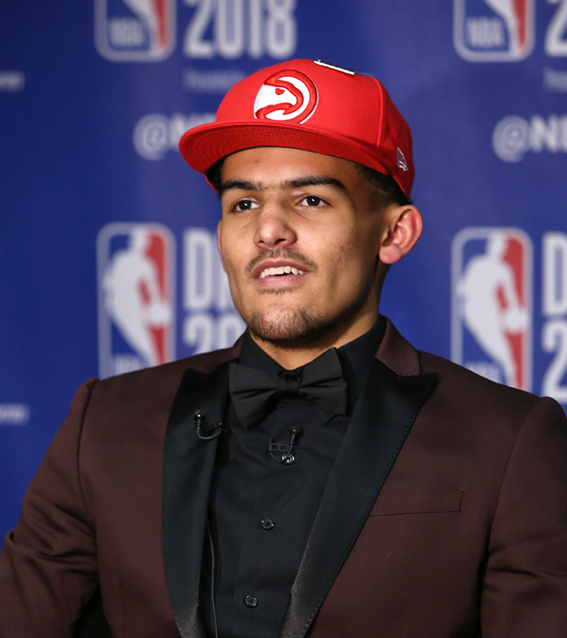 2018 First Round Pick ➡️ 2020 All-Star Starter  @TheTraeYoung | #TransformationTuesday https://t.co/xMz4UvuIZ4