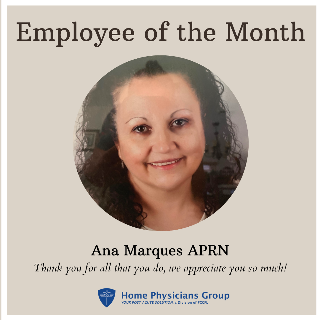 🥁🥁🥁 We would like to announce our June Employee of the Month, Ana Marques APRN! 🌻 Thank you for your great team work and all that you do, we appreciate you so much!  #EmployeeoftheMonth #June #hardwork #teamwork #HPGFamily #HPG #Orlando #florida