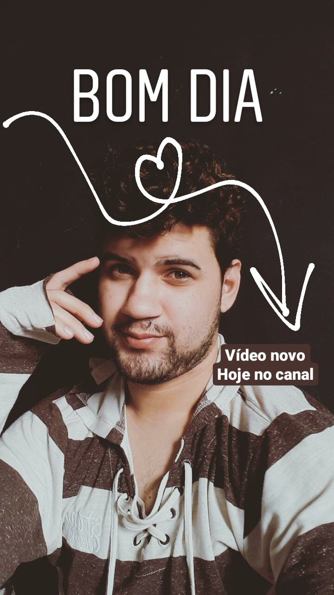Hoje tem vídeo novo saindo no canal no youtube... #blogueirinho #YouTube #YouTubers #TikTok https://t.co/7Itx2dVhQH