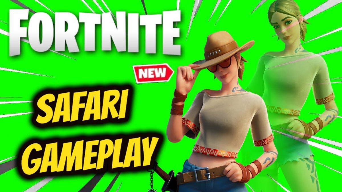 New Safari Skin Gameplay in #Fortnite like and subscribe enjoy #YouTube #YouTuber #SmallStreamerCommunity #giveaway #youtubers #FortniteBR #fortniteskins #fortnitechapter2 #fortnitecommunity #fortnitepro #fortnitegameplay   https://t.co/33xKMSDGhA https://t.co/o573nYhitr