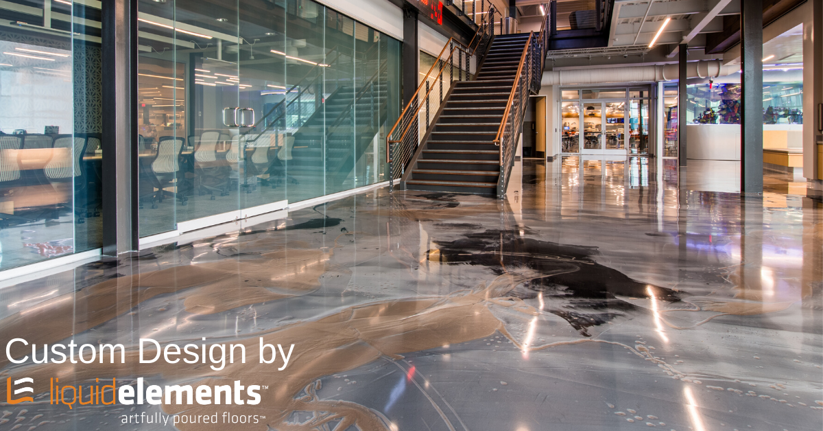 Poured-in-place & naturally hygienic, Liquid Elements floors bring design, performance, & a clean environment to your office, school, or commercial space. Custom floor design, no problem! 877.642.7243 Learn more: https://t.co/Y88Cn9QIZ5  #customflooring #interiordesign https://t.co/48JGp60v1b